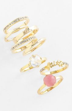 Trend to try: Stack your rings!
