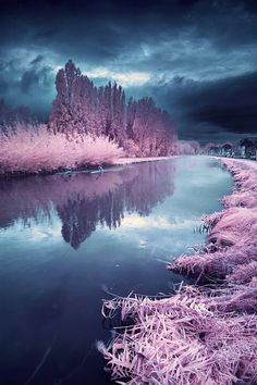 Infra red photography landscape