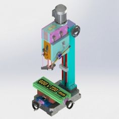 BANKA 38 Drilling Cum Milling Machine