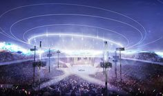 Among the eleven finalists that were announced in the international design competition the 2020 Olympic Stadium proposal of SANAA and Nikken Sekkei for the New National Stadium Japan was really appreciated among Japanese. 2020 Olympics, Tokyo Olympics, Ryue Nishizawa, National Stadium, Tokyo 2020, Toyo Ito, Design Competitions, Zaha Hadid, Master Plan