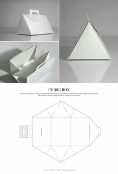 & DIELINES II: The Designer's Book of Packaging Dielines Purse Box – FREE resource for structural packaging design dielinesOF OF or Of may refer to: Packaging Dielines, Paper Packaging, Packaging Design Box, Packaging Boxes, Product Packaging, Retail Packaging, Diy Gift Box, Diy Box, Karton Design