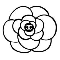 Chanel Camellia   Camellia is Coco Chanel's favorite flower   #CocoChanel #ChanelCamelia Visit espritdegabrielle.com   L'héritage de Coco Chanel #espritdegabrielle