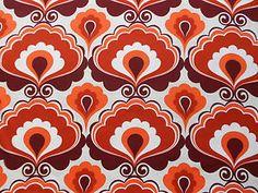 1970s curtain fabric