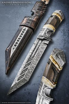 Work from 2011   André Andersson Custom Knives - null