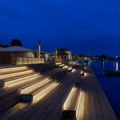 fasadbelysning trappa ute - Sök på Google