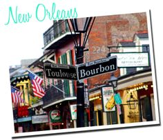 Adding New Orleans to my list of US travel destinations.  Everything about seems festive!