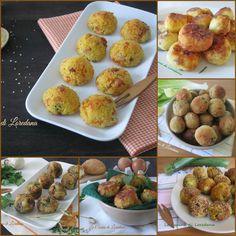 Una raccolta di Ricette di Polpette vegetariane e non per far felici piccoli e grandi di casa con delle deliziose e squisite piccole polpette