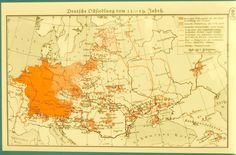The Ostsiedlung in the 11th-19th centuries