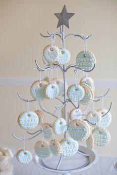 Sugar cookie tree.