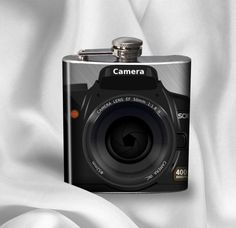 Hip Flask   Camera by AGiftToLove on Etsy