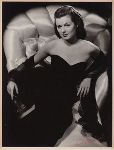 Oversize exhibition portrait of Barbara Hale by Ernest A. Bachrach. Gelatin-silver matte 14 in. x 19 in. double-weight print of Barbara Hale by Ernest A. Bachrach, from his private collection. Custom-mounted to 15 x 20 in. exhibition mat, and signed in red crayon by Bachrach on the print. For fans of her much later work in TV's Perry Mason, this may be the definitive shot to capture Hale's quietly steaming sexuality.
