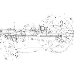 Robert Strati - technical drawing