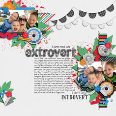 Extrovert vs Introvert Bundle by Heather Roselli and Meghan Mullens