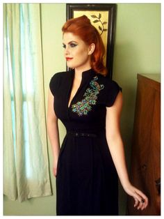 peacock  dress #pinupgirlclothing