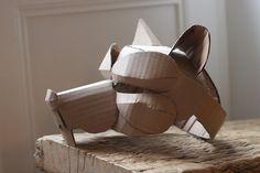 Rat mask, unpainted | Flickr - Photo Sharing!