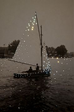 Boat - Lake - Inspiration - Moment - Momento - Inspiração - Barco a vela… Lumiere Photo, Kunst Online, Photocollage, Foto Art, Sail Away, Oeuvre D'art, Belle Photo, Pretty Pictures, Pretty Pics
