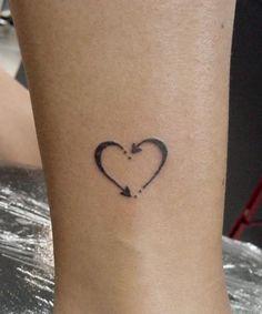 La flecha en forma de corazón | Los mejores diseños de tatuajes según Pinterest