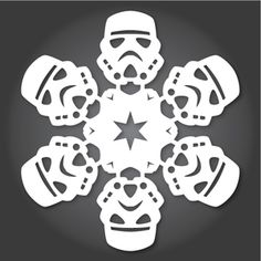 New Stormtrooper Just one of many Star Wars snowflakes patterns