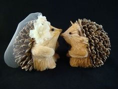 HEDGEHOG Cake Topper / SWEET hedgehog wedding cake topper / woodland rustic wedding enchanted forest wedding