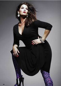 Model @Whitney Thompson for @Anna Scholz