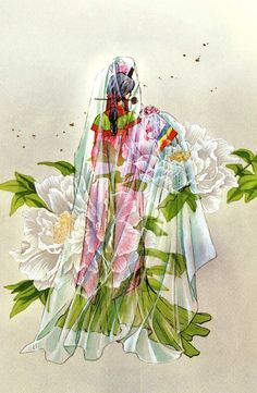 Tags: CLAMP, Legend of Chun Hyang, CLAMP North Side, Official Art