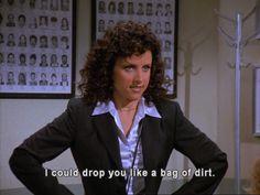 Go Elaine go!