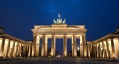 The Brandenburg Gate in Berlin, Germany   #monogramsvacation