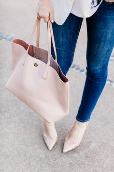 the perfect blush tote