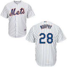 Daniel Murphy NY Mets Replica Adult Home Jersey