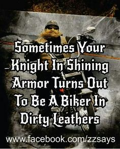 Dirty leather, camo, muddy, or work boots. Aint no night in armor here. Redneck and Badass is more like it