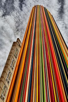 1X - Color Lines by Herbert A. Franke