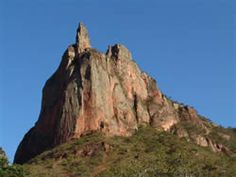 Terra da Paz. A montanha sagrada em Morro do Japao, MT. Perto da Chapada dos Guimaraes/Cuiaba.