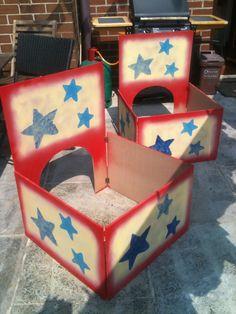 Music box props for a local dance recital.