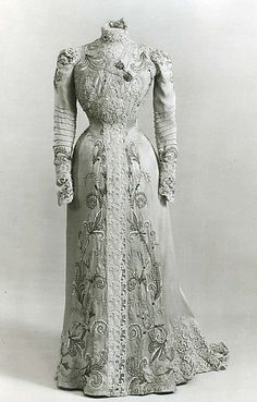 Dress Design House: Callot Soeurs (French, active 1895–1937) Date: 1900 Culture: French Medium: silk, metal thread