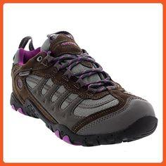 Womens Hi-Tec Penrith Low Hiking Walking Outdoors Waterproof Sneakers - Charcoal - 6 - Outdoor shoes for women (*Amazon Partner-Link)