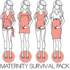 Maternity clothing patterns