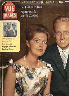 point de vue N°1075 birgitta et johan georg suede margrethe et henrik danemark in Livres, BD, revues   eBay