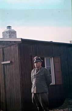 Sturmbannführer Hillgärtner, der var kommandant i Frøslevlejren indtil december 1944