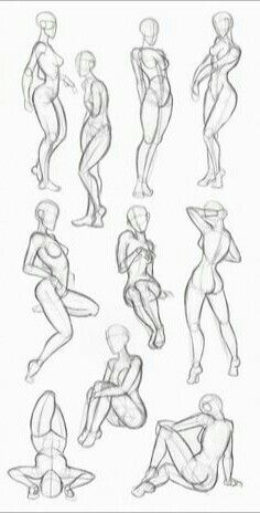 The woman in the long red dress. Drawing Studies, Drawing Skills, Drawing Poses, Art Studies, Drawing Techniques, Human Drawing, Body Drawing, Anatomy Drawing, Figure Sketching