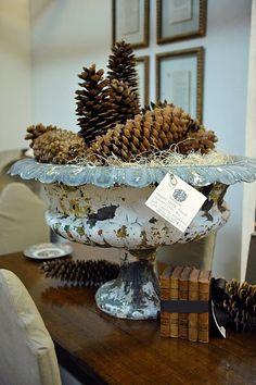 seasonal idea for urn