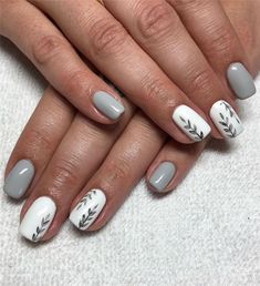 Fall Leaf Nail Art Designs - Fall leaves on nails right now are super-trendy. We searching for 150 best examples. Be ready to get inspiration! Gel Nails, Nail Polish, Nail Effects, Fall Nail Designs, Artificial Nails, Nail Decorations, Perfect Nails, Nail Trends, Nail Arts