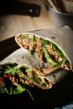 This gave me an idea I want to try! No turkey though! Down and Dirty Weeknight Turkey Burritos I Love Food, Good Food, Yummy Food, Tasty, Fajita Spices, Cooking Recipes, Healthy Recipes, Healthy Wraps, Healthy Foods