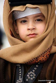Qatar young boy world cultures