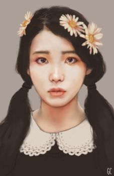 Son Ga In -- Brown Eyed Girls fan art painting by antuyetlai on DeviantArt