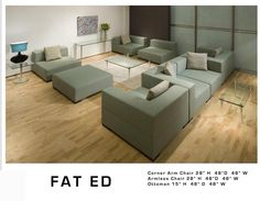 Design 9: Fat Ed Sectional. No price.