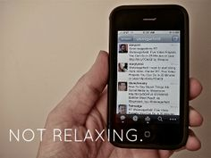 yes and yes: I'm pretty sure I'm not relaxing 'right.' Are you?