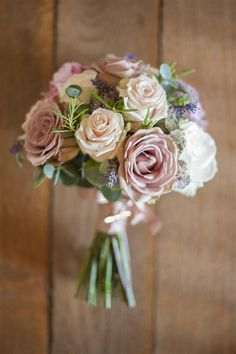 rose wedding bouquet, image by Source Images