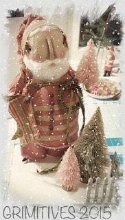 Original Cloth Art Dolls made on beautiful Cape Cod by Kaf Grimm Primitive Santa, Primitive Crafts, Primitive Christmas, Cozy Christmas, Christmas Time, Christmas Stuff, Christmas Projects, Christmas Ideas, Christmas Decorations