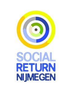 Dit logo mocht Web en Logo ontwerpen voor Social Return Nijmegen. Dit is een initiatief van alle Nijmeegse wooncorporaties en de gemeente Nijmegen om zo veel mogelijk kennis delen en oplossingen vinden om mensen met een afstand tot de arbeidsmarkt sneller aan het werk te krijgen.