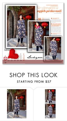 """""""Luckywu"""" by amra-mak ❤ liked on Polyvore featuring women's clothing, women, female, woman, misses, juniors and LUCKYWU"""